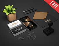 Business Stationery – 3 Free PSD Mockups