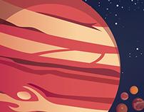 Travel Poster to Jupiter