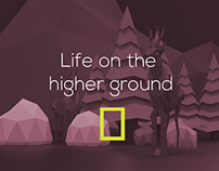 Life on the higher ground