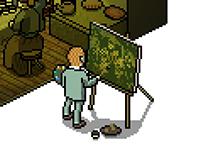 The Potato Eaters (Pixel Art)