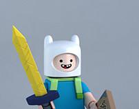 LEGO Finn minifig