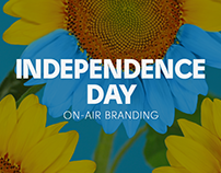 Special on-air branding