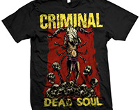 Criminal - dead Soul Tour Merch
