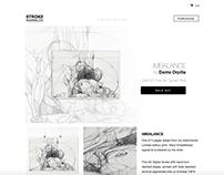 strokeholdings.com - Artist online shop