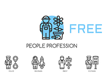 30 People Profession Icons **Free**