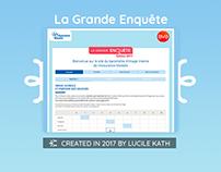 UI/UX Design - Enquête
