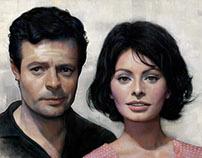 Sophia Loren & Marcello Mastroianni