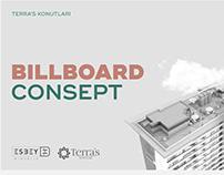 Terra's Konutları — Billboard Consept