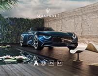 Maserati GT Targa - CGI