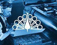 PEACOCK - branding for publisher