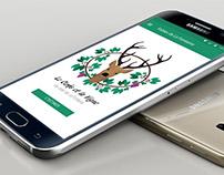 Application mobile - Le Cerfs et la Vigne