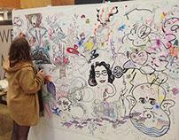 Madfest 2015 (Collaborative art wall).