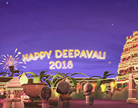 Deepavali E-card 360 | 3D Animation