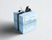 Pierre Cardin / Box Design For Showcase