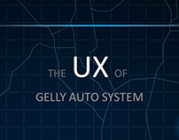 SMILE UI--The UX of GELLY AUTO SYSTEM