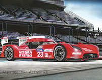 Nissan GT-R LM NISMO - Le Mans 2015