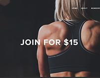 Phoenix Fitness website