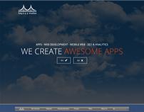 Bay app studios website design