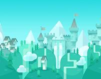 Abraca concept art, Castle level
