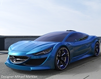 MERCEDES Electric concept car