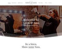 Luxury Salon Home Page