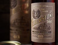 Yellowstone Select Bourbon Package Design