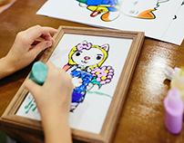 Котики для детского клуба-кафе «Florimel»