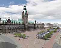 My Maila Push Projects Work 3d City of Hamburg