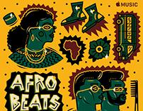 Apple Music Afrobeats Hits Playlist Cover Art