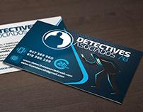 Tarjetas de Visita para Detectives Asociados Albacete