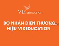 BỘ NHÂNJ DIỆN THƯƠNG HIỆU VIKEDUCATION