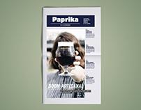 Diario Paprika   Diseño Editorial