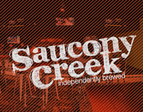 Saucony Creek Beer Label