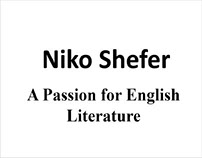 NikoShefer - A passion for english literature