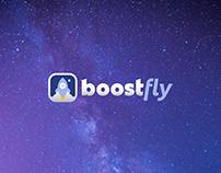 Restyling of BoostFly logo