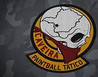 Logo e Identidade Visual - Caveira Paintball Tático