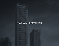 Office design in Talan Towers