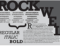 Rockwell Typography