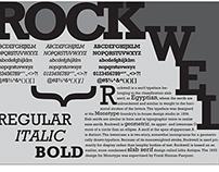 Rockwell Typography