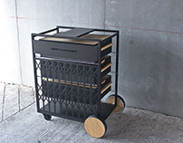 Greyhound  Catering Cart