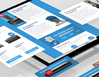 Email template design Anylinq - Data Management Experts