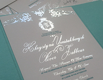 Tiffany & Co. Wedding Invitation Suite