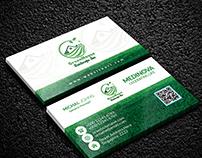 Landsacape Business card Design