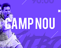 Camp Nou Motion Graphic Design