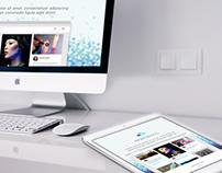 Branding & Web design: eWork