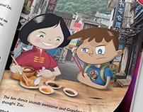 Backpack Zac children's storybook