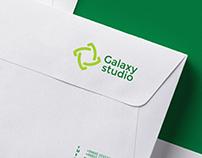 Galaxy studio. Corporate identity