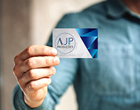 AJP Event Manager Business Card