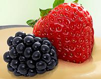 Cuchara Frutos rojos y leche Condensada - Nestlé