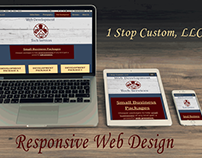 RWD mockup using our own pages at 1stopcustom.com